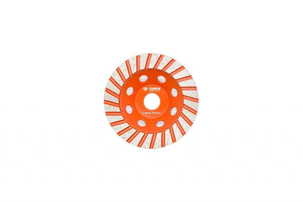 """5"""" Turbo coarse cup wheel 22.23 centre"""