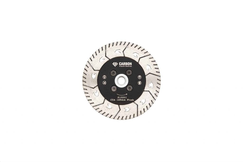 "5"" turbo flush cutting blade m14"