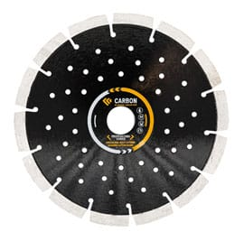 "Carbon 7"" Segmented Blade General Purpose"