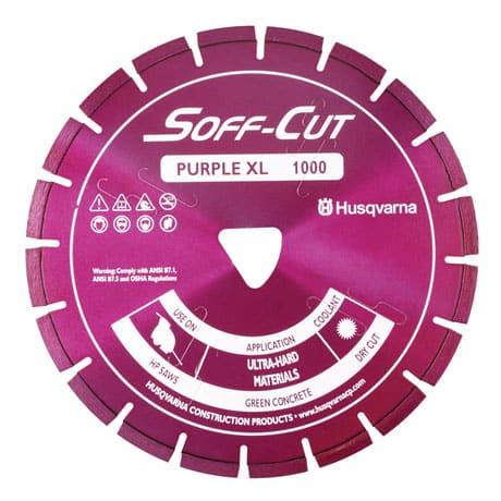 Husqvarna Soff Cut + Skid Plate XL1000 Purple